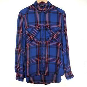 Express | Plaid Boyfriend Shirt